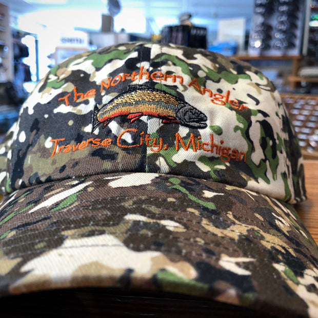Northern Angler Single Haul Cap River Camo