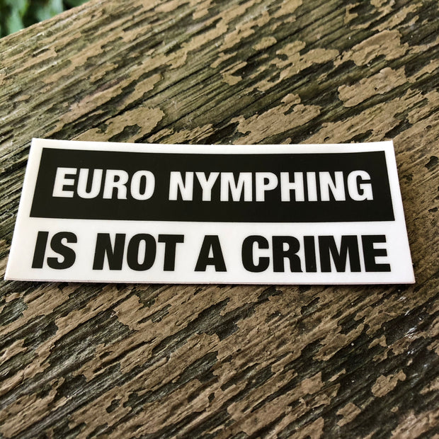 Not A Crime Sticker