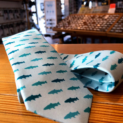 Rep Your Water Trout Country Necktie