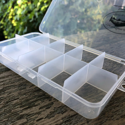 Ten Compartment Clear Poly Box