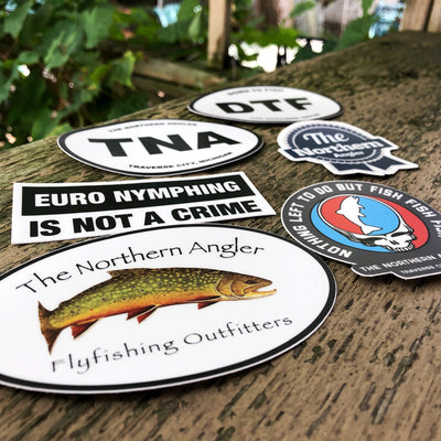 Northern Angler Sticker Pack