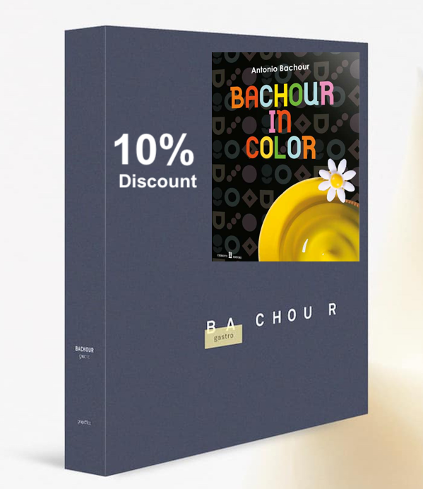 Bachour Book Combo: Bachour Gastro + Bachour in Color by Antonio Bachour
