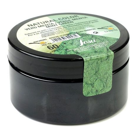 MENTA VERDE NATURAL COLORANT SOSA (60G)