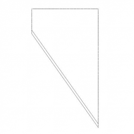 Posuri Unica Folosinta Transparent, Pretaiate, H 50 cm, Set 50 Buc