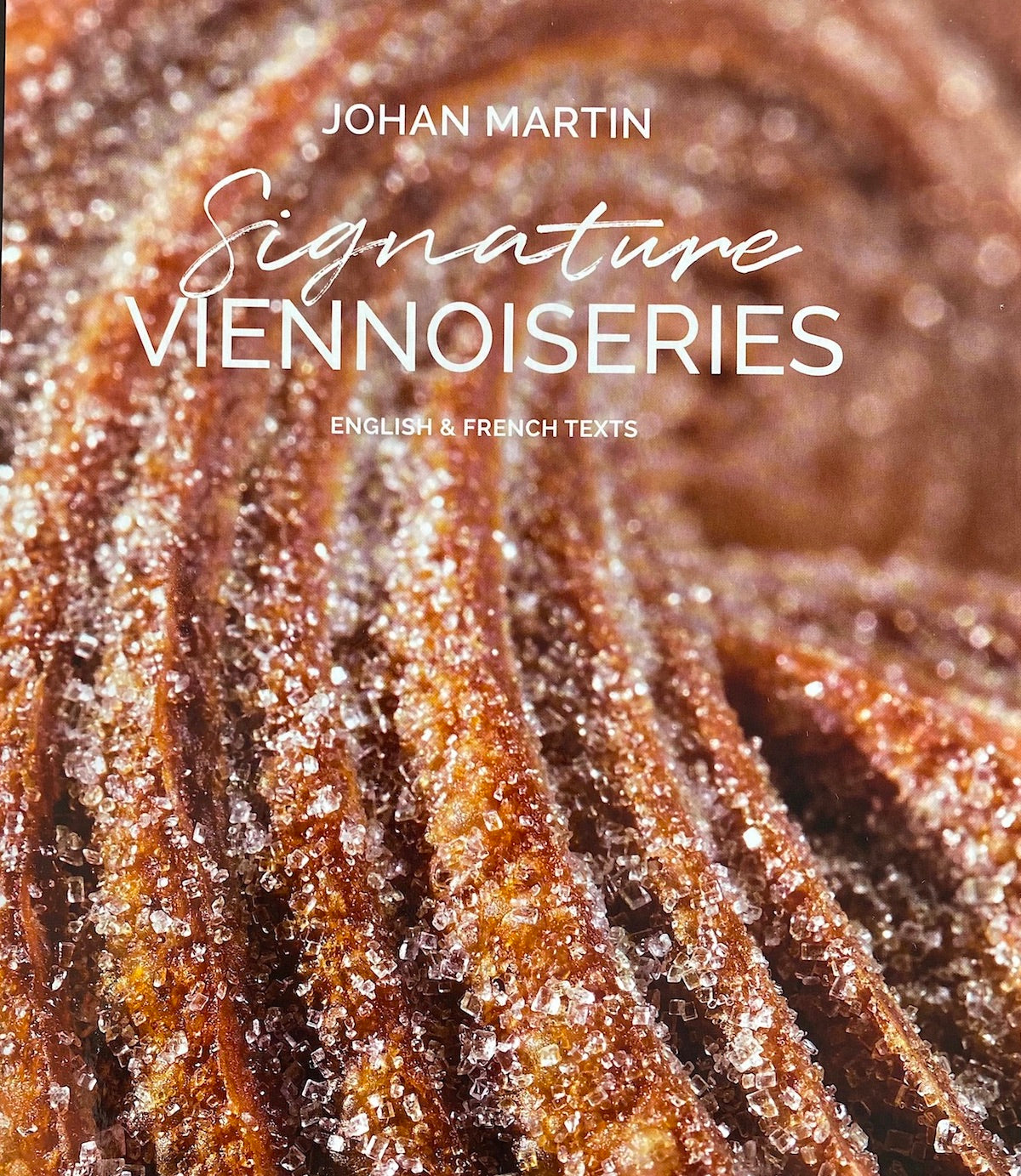 Book Signature Viennoiseries by Johan Martin