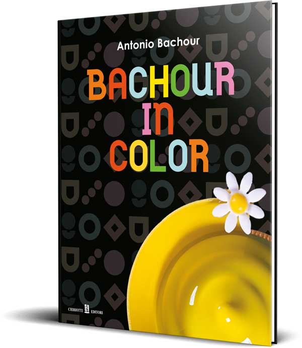 "Cartea ""Bachour in Color"" by Antonio Bachour"