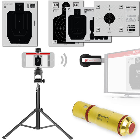 LaserHIT 9mm TV Kit Floor Standing Tripod