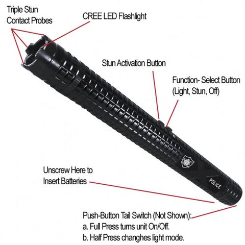 Baton Flashlight
