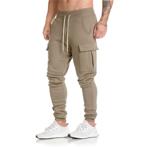 Mens Cargo Sweatpants - Gymsuki