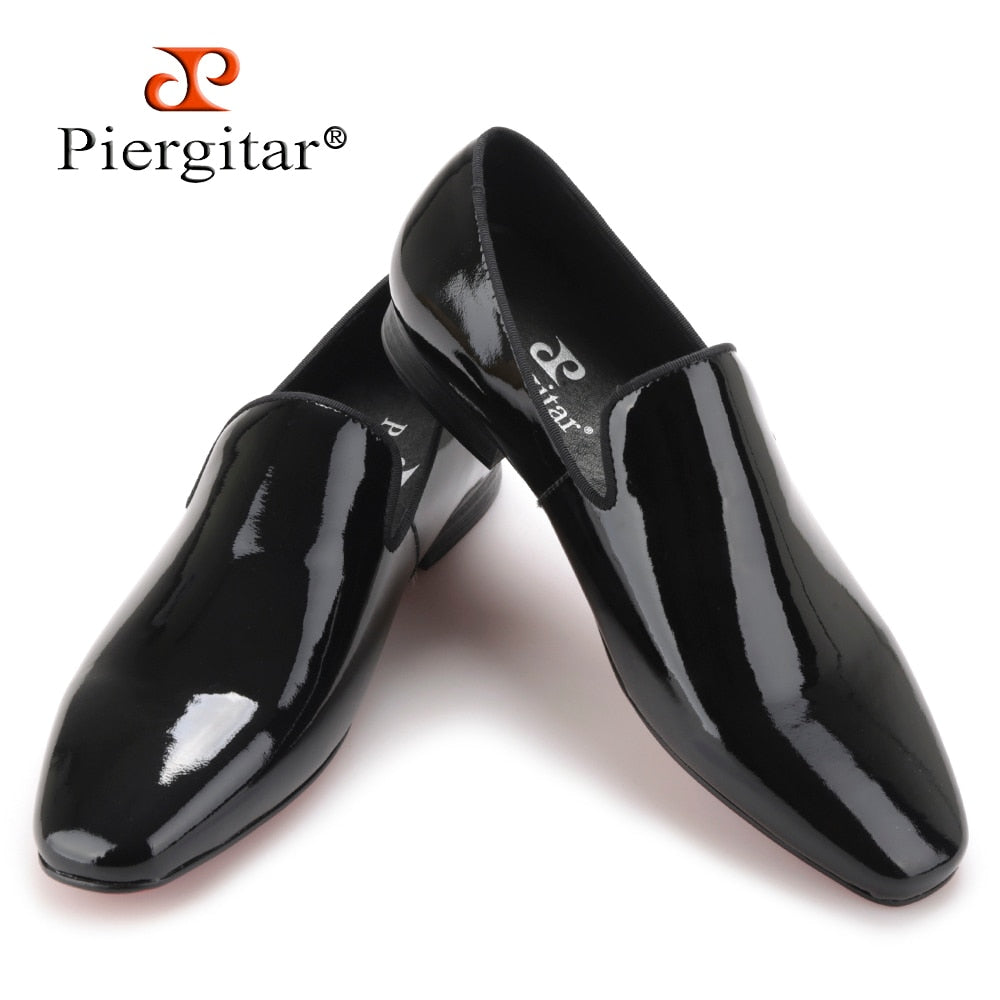 fa9c77f669 2019 New arrival Men black Patent Leather shoes Party and Wedding men dress  shoes luxurious Handmade ...