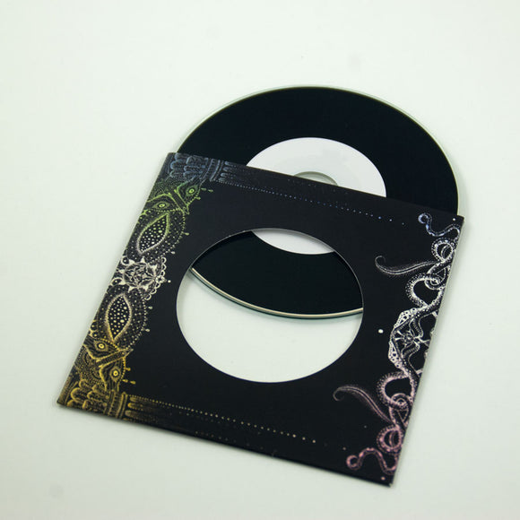 CD + Vinyl Style Card Wallet