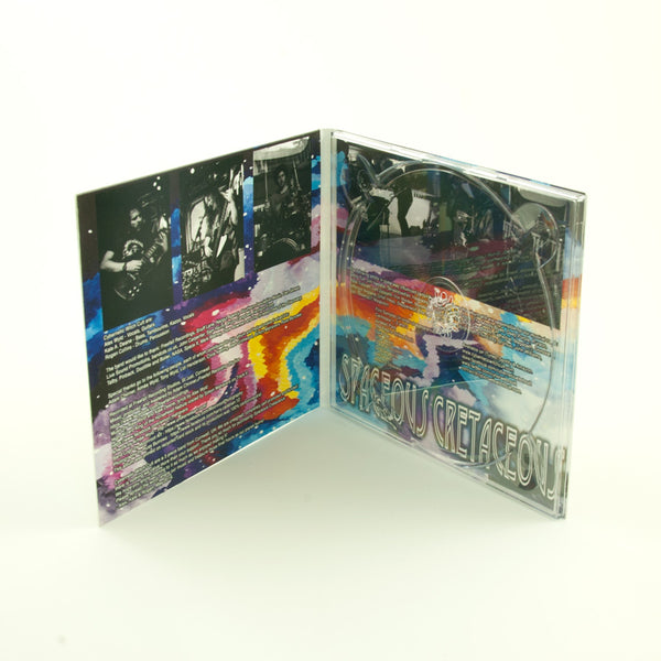 CD Digipack - 4 Panel + 2 Trays