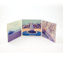 CD Digipack - 6 Panel + 1 Tray + Tunnel Pocket