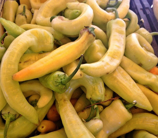 Sweet Banana Pepper Seeds Heirloom Frying Pickling Pepper