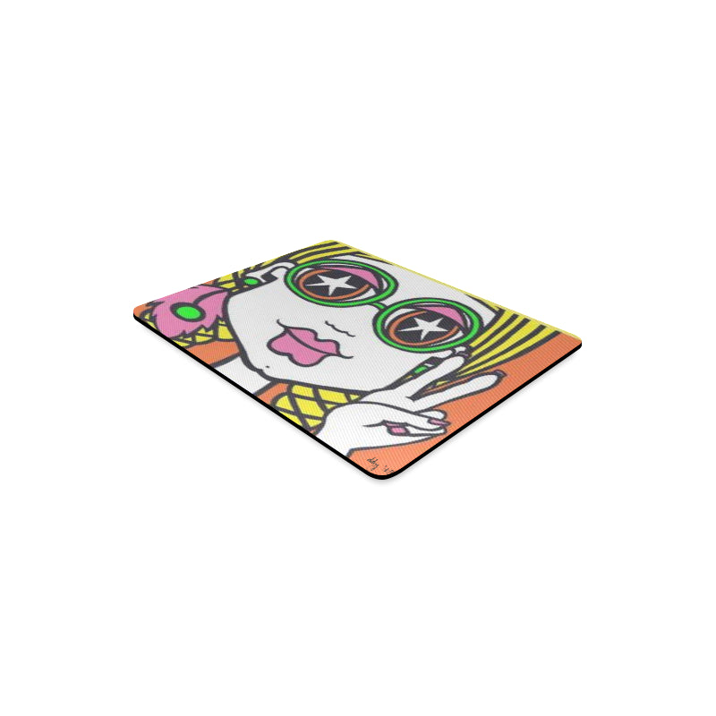 Hippie Chic Rectangle Mousepad