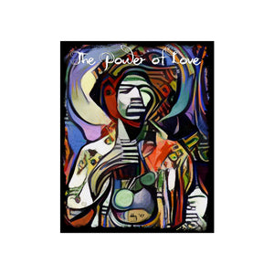 "The Power of Love RockArt™ Poster 16""x 20"""