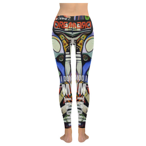 I'm Just A Dreamer RockArt™ Leggings (Invisible Stitch Model L05)