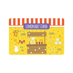 "Anime Lemonade Stand Doormat 23.6"" x 15.7"""