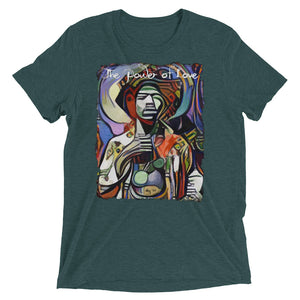 The Power Of Love RockArt™ Short Sleeve T-Shirt (Unisex)