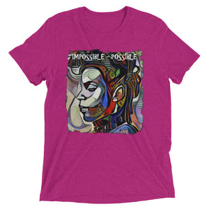 Impossible Possible  RockArt™ Short Sleeve T-Shirt (Unisex)
