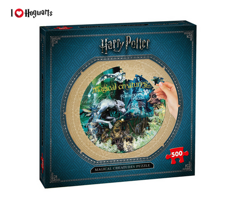 Puzzle Magical Creatures Kids- Harry Potter + Promo Box Gioielli