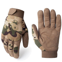Multicam Outdoor Tactical Gloves - SkullVibe