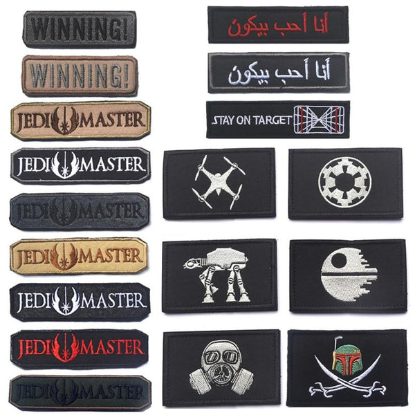 Tactical Morale Patches - 2