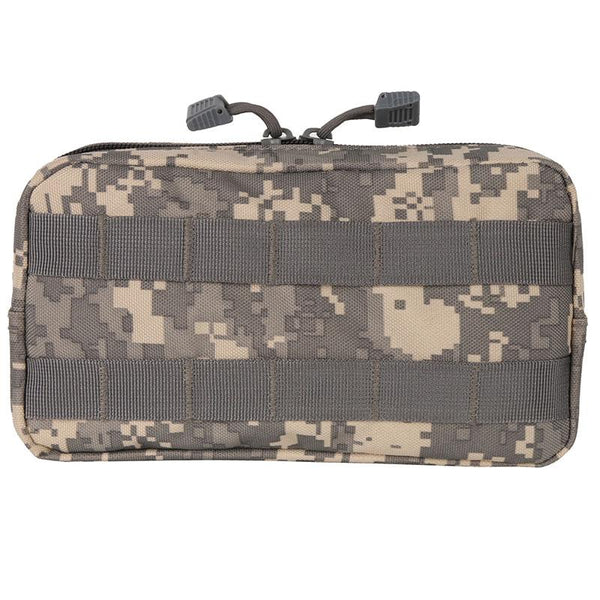 600D Tactical Molle Horizontal EDC Multi-purpose Pouch Bag