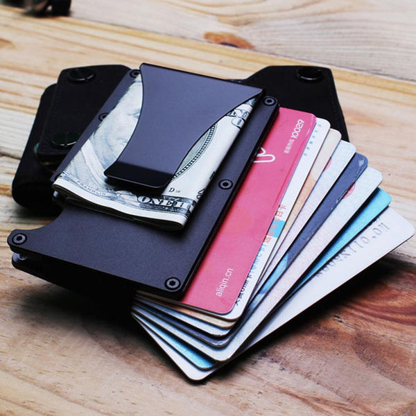RFID Protection ID/Credit Card Holder - SkullVibe