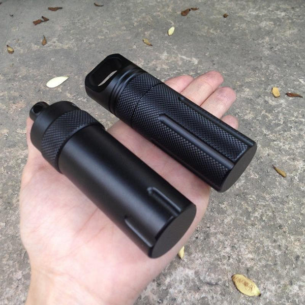 Survival EDC Waterproof Pill Container - SkullVibe