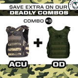 Tactical Beverage Military Vest v2 - SkullVibe