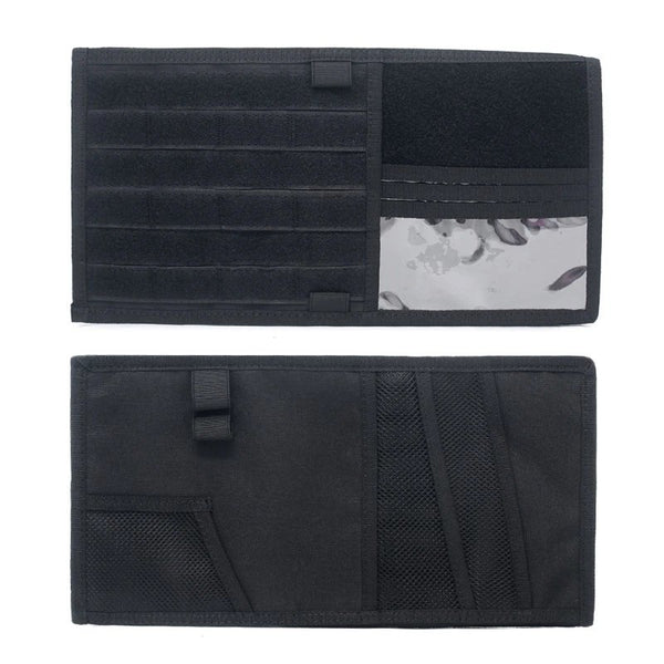 Tactical MOLLE EDC Visor Panel v2 - SkullVibe