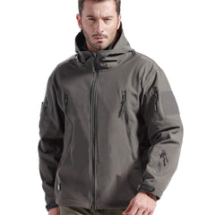 Tactical Softshell Waterproof Jacket - SkullVibe