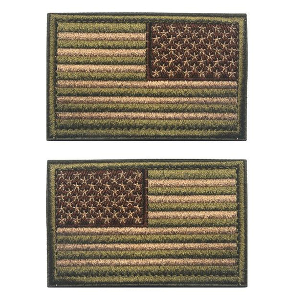 US Flag Military Patches (Combo) - SkullVibe