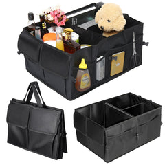 Vehicle Foldable Trunk Organizer - SkullVibe