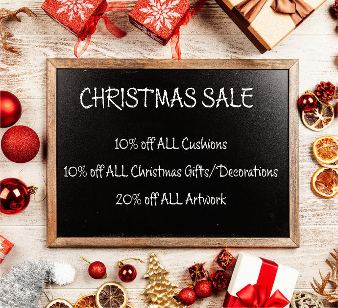 COVID-19 Update 02/12/20: Opening and Christmas Sale!