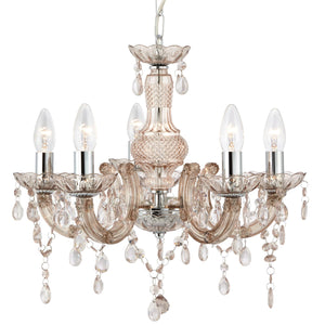 Marie Therese Mink 5-Light Chandelier