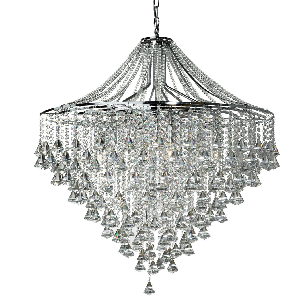 Dorchester Chrome 7-Light Chandelier