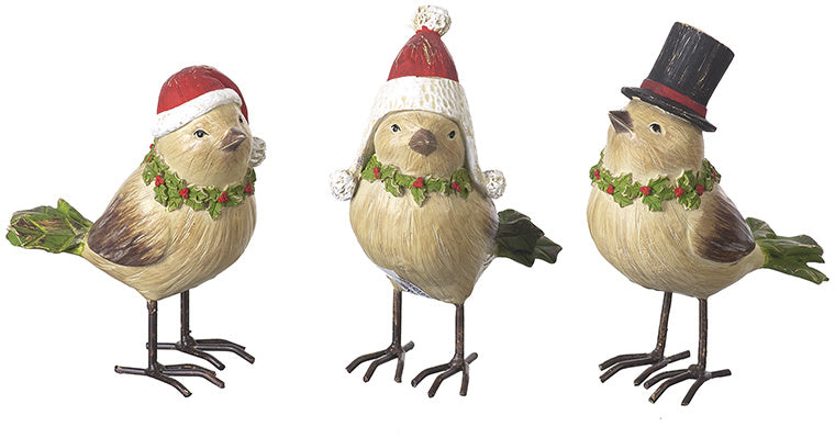 Wooden Robins