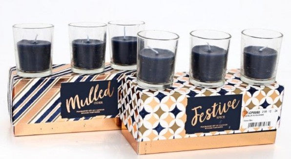 Festive Spice Candle Set
