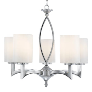 Gina Chrome 5-Light Fitting