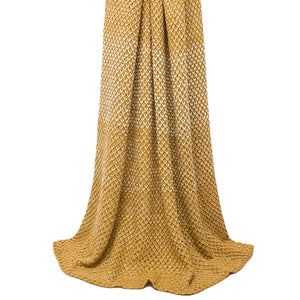 Elina Throw Ochre