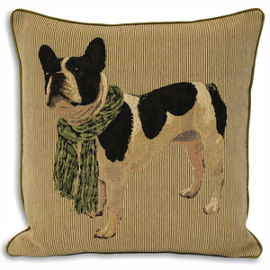 Frenchie Lime Cushion