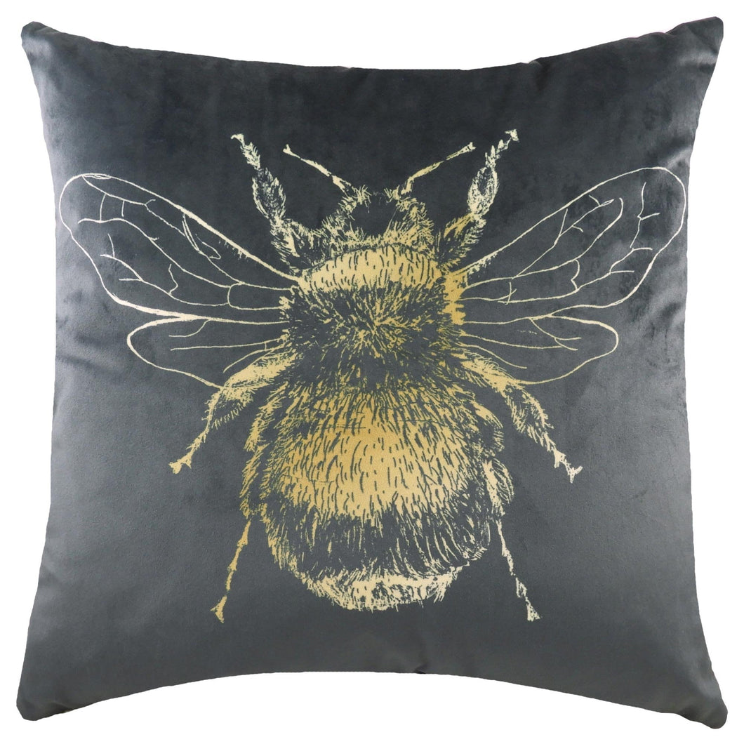 Gold Bee Cushion