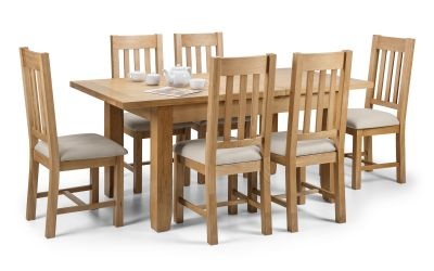 Astoria Dining Set with 4/6 Hereford Chairs