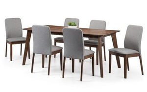 Berkeley Dining Set with 6 Chairs