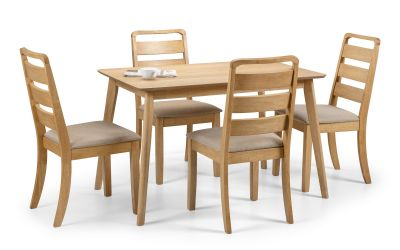 Boden Dining Set with 4/6 Lars Chairs