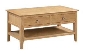 Cadwell Solid Oak Coffee Table