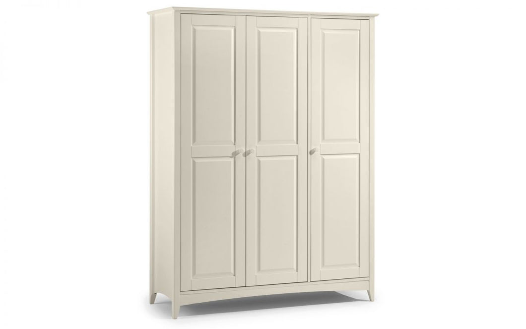Cameo Solid Pine 3-Door Wardrobe