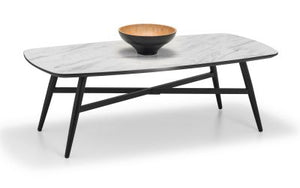Caruso Marble-Effect Coffee Table